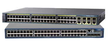 HP and Cisco Switches